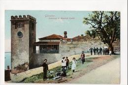 I-965 Gibraltar Vintage Postcard Entrance To Moorish Castle - Postcards
