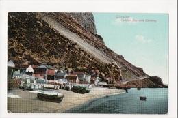 I-966 Gibraltar Vintage Postcard Catalan Bay With Clothing - Postcards