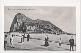 I-971 Gibraltar Vintage Postcard Rock From Neutral Ground - Postcards