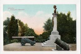 I-967 Gibraltar Vintage Postcard Wellington's Monument - Postcards