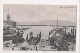 I-972 Gibraltar Vintage Postcard The Slip Ship Yard Dry Docks - Postcards
