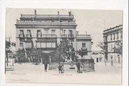 I-975 Gibraltar Vintage Postcard Commercial Square - Postcards