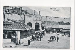 I-974 Gibraltar Vintage Postcard The Market - Postcards