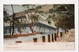 I-978 Gibraltar Vintage Postcard Assembly Rooms - Postcards
