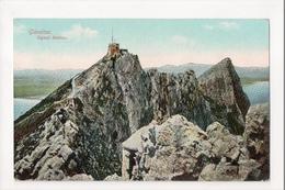 I-980 Gibraltar Vintage Postcard Signal Station - Postcards