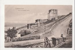 I-983 Gibraltar Vintage Postcard The Old Moorish Castle - Postcards