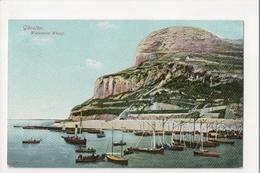 I-986 Gibraltar Vintage Postcard Waterport Wharf - Postcards