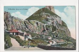 I-988 Gibraltar Vintage Postcard Governor's Cottage - Postcards