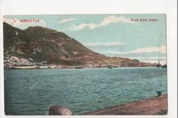 I-990 Gibraltar Vintage Postcard Rock From South - Postcards