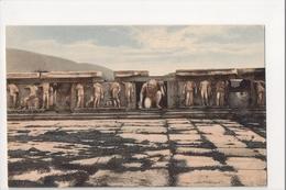 I-993 Greece Vintage Postcard Athenes Bas Reliefs Du Theatre De Bacchus - Postcards