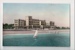 J-005 Greece Vintage Postcard Rhodes Hotel Of Roses Tinted Real Photo - Postcards