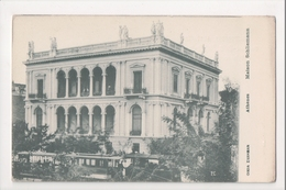 J-007 Greece Vintage Postcard Athenes Maison Schliemann - Postcards