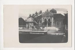 J-013 Indonesia Vintage Postcard Java Moorish Style Church Real Photo - Postcards