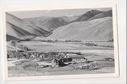 J-087 Sun Valley Idaho From Penny Mountains Birdseye View Postcard - Etats-Unis