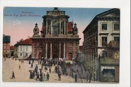 J-163 Warschau Warsaw Warsawa Poland Postcard Kosciot S-go Jozefa Oblubienca - Postcards