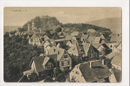 J-198 Lindenfels Hess Germany Birdseye View Postcard - Other