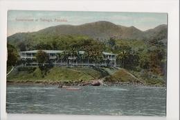 J-258 Taboga Panama Sanatorium 1911 Canal Zone Postcard - Postcards