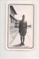 J-302 African American Black Soldier In Uniform Vintage Photo - Famous People