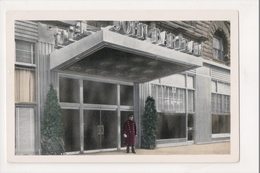J-473 Philadelphia Pennsylvania John Bartram Hotel Door Man Postcard - United States