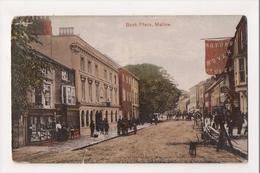 J-674 Mallow Ireland Bank Place Street Scene Early Postcard - Ireland