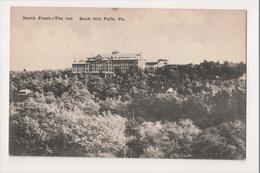J-798 Buck Hill Falls Pennsylvania North Front The Inn Postcard - United States
