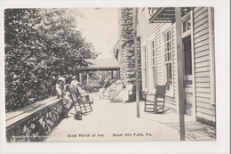 J-800 Buck Hill Falls Pennsylvania East Porch Of The Inn Postcard - United States