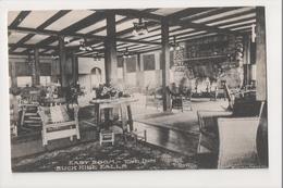 J-816 Buck Hill Falls Pennsylvania East Room The Inn Postcard - United States