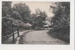 J-817 Buck Hill Falls Pennsylvania Good Bye Come Again Inn Postcard - United States