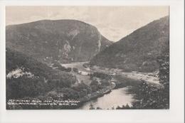 J-818 Delaware Water Gap Mt Minsi And Mt Tammany Pennsylvania Postcard - United States