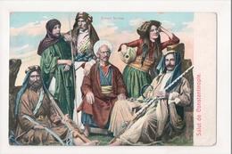 J-887 Salut De Constantinople Turkey Groupe Syriens - Postcards