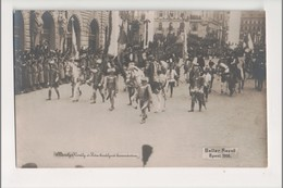 J-919 King Charles Of Hungary Coronation Real Photo Beller Rezso Budapest 1916 - Postcards