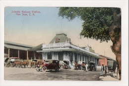 J-925 San Jose Costa Rica Atlantic Railway Station - Postcards
