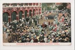 J-928 Cartagena Colombia Celebrating 100 Anniversary Independence Postcard 1914 - Postcards