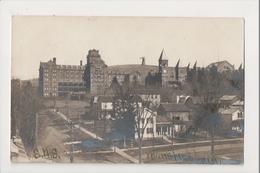 J-936 Mansfield Pennsylvania High School SHS Real Photo Postcard 1908 - United States