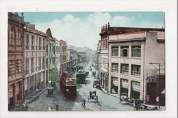 K-008 Manila Philippines Islands Calle Rosario Trolleys Stores - Postcards