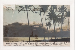 K-044 Oras Samar Philippine Islands Tinted Real Photo Postcard - Postcards