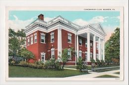 K-161 Warren Pennsylvania Conewango Club 1932 Postcard - United States