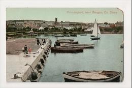 K-181 Bangor County Down Ireland Groomsport Early Postcard - Ireland
