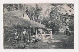 K-189 Colombo Ceylon Sri Lanka Boralesgamuwa A Rural Scene Postcard - Postcards