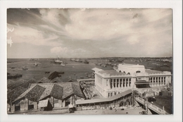 K-212 Colombo Harbour Ceylon General View Real Photo Postcard - Postcards