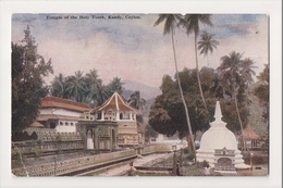 K-217 Ceylon Kandy Temple Of The Holy Tooth Early Postcard - Postcards