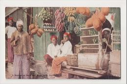 K-218 Ceylon Botique Or Betel And Fruit Shop Early Postcard - Postcards