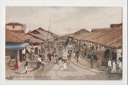 K-219 Colombo Ceylon Street Scene In Pettah Early Postcard - Postcards