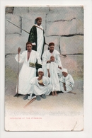 K-226 Egypt Africa Bedouins At The Pyramids Early Postcard - Other