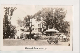 K-267 Bedford Pennsylvania Elmwood Inn Real Photo Postcard - United States