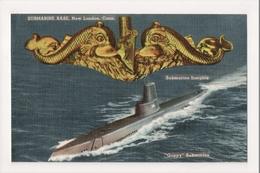 K-386 Submarine Base New London Connecticut Insignia Guppy Submarine PC - Other