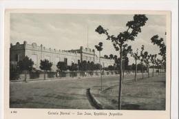 K-400 Republic Of Argentina San Juan Escuela Normal Vintage Postcard - Postcards