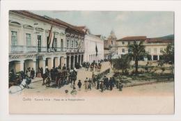 K-478 Quito Carrera Chile Plaza De La Independencia Postcard - Postcards