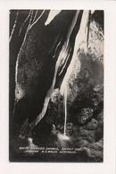 K-494 Jenolan NSW Australia Orient Cave White Fringed Shawls Real Photo RPPC - Other