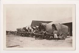 K-535 Iloilo Philippine Islands Street Scene Ox Wagons Real Photo Postcard - Postcards